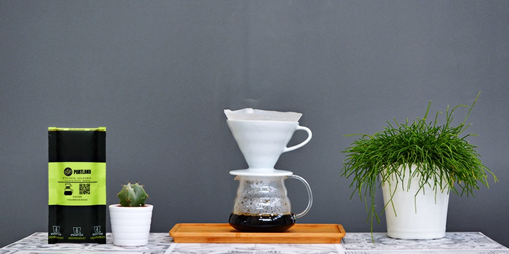 indice tutorial brewing pour over dripper