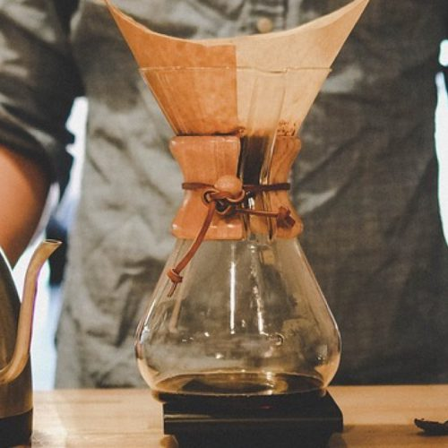 coppertina chemex coffee maker