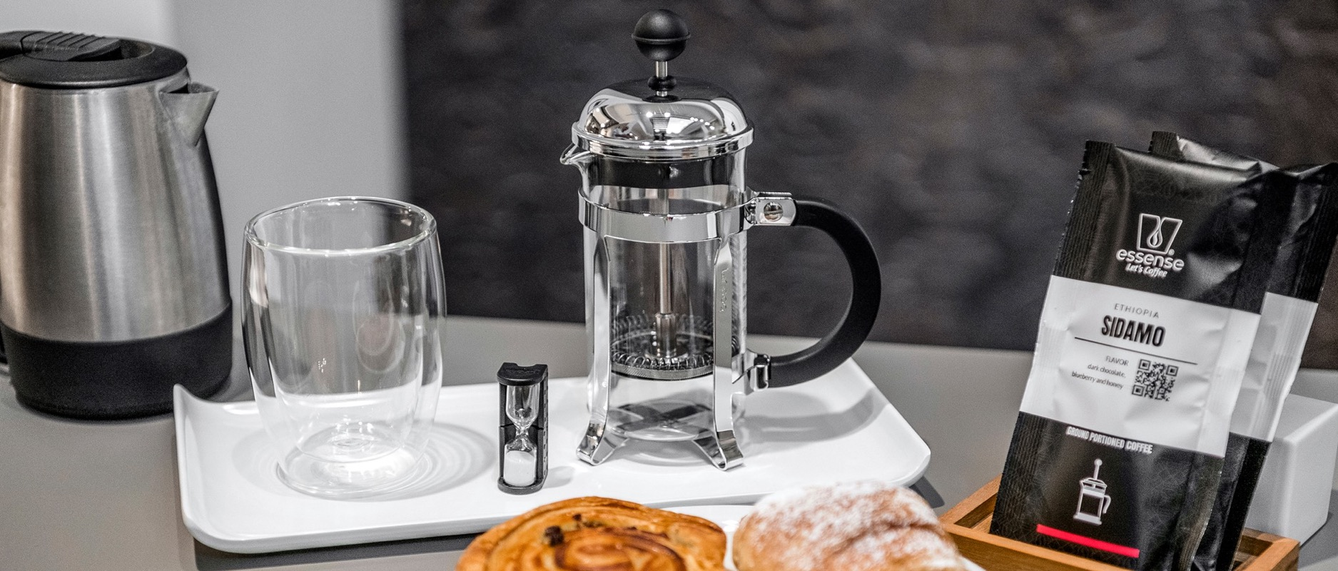 French Press for breakfast