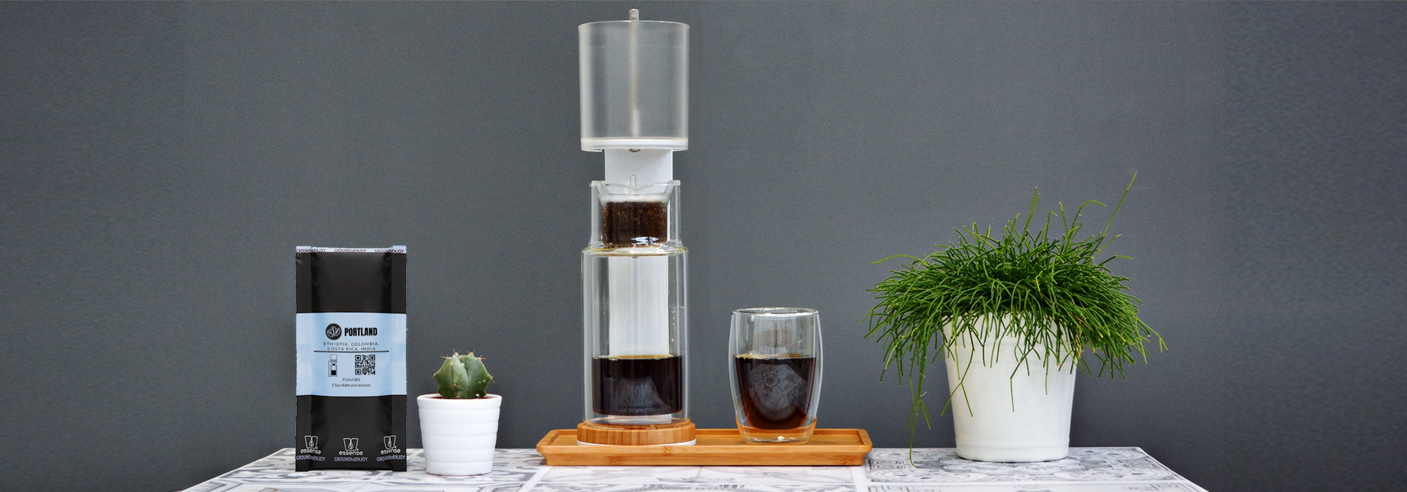 tutorial coffee brewing cold drip brew
