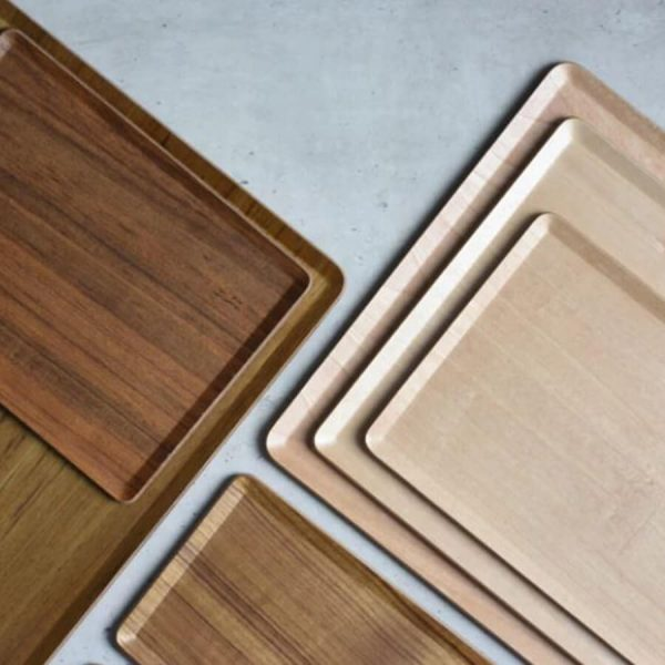 Different colors for your placemat coffee and tea tray