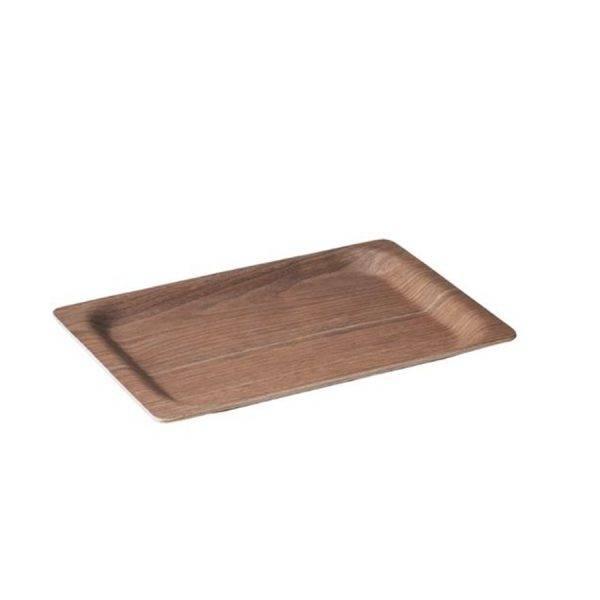 Slow coffee style tray in walnut