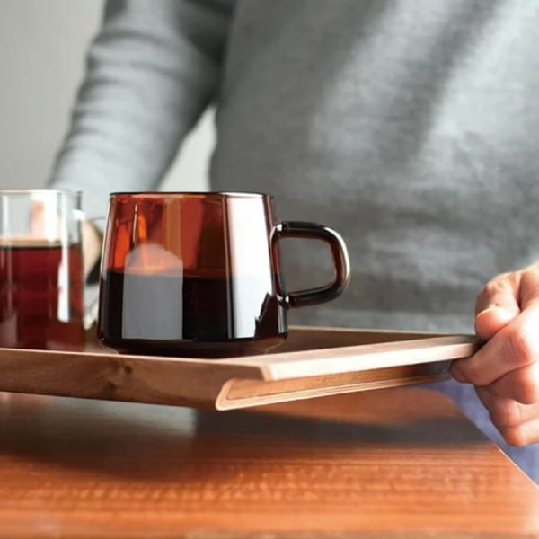 Secure and elegant coffee tray