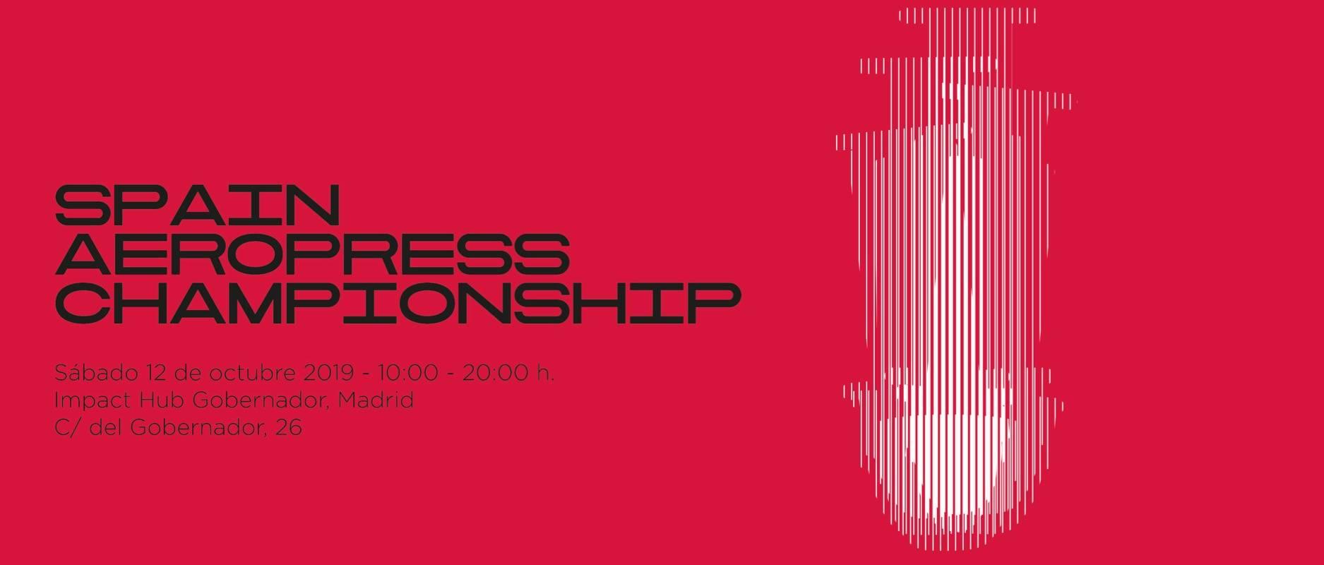Spain AeroPress Championship Banner