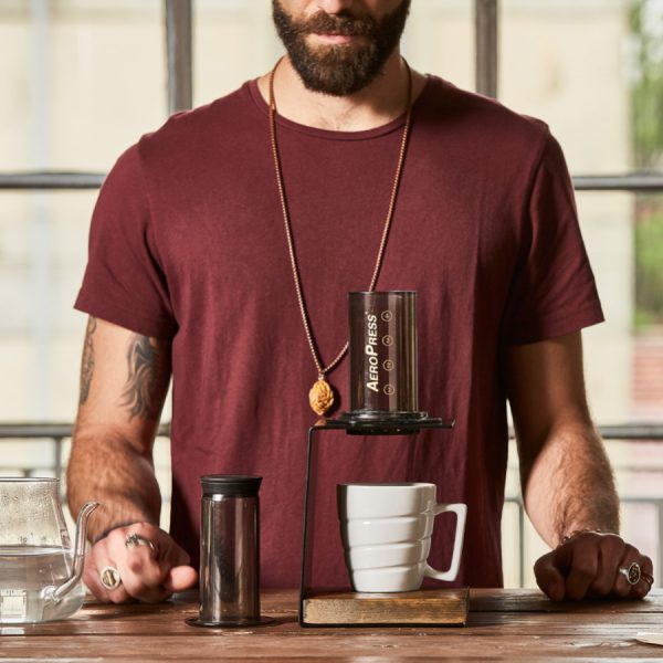 Brewing coffee with the AeroPress