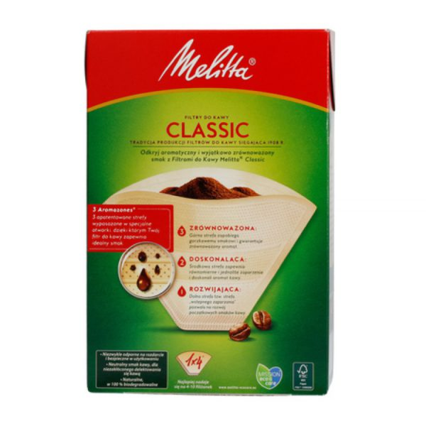 Melitta 104 paper filters for coffee
