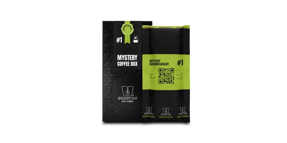 Mystery Coffee box with sachet