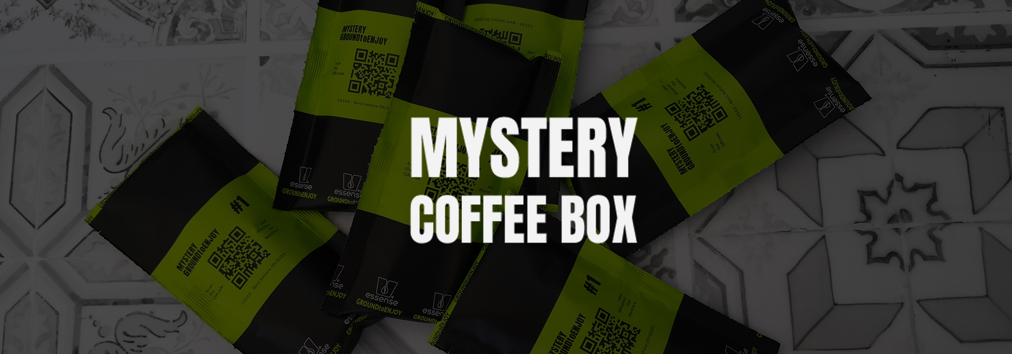 Mystery coffee box
